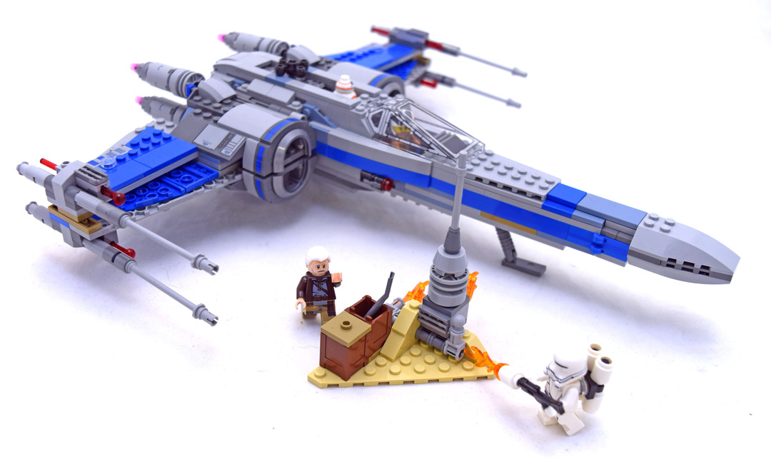 Resistance X-wing Fighter - LEGO set #75149-1
