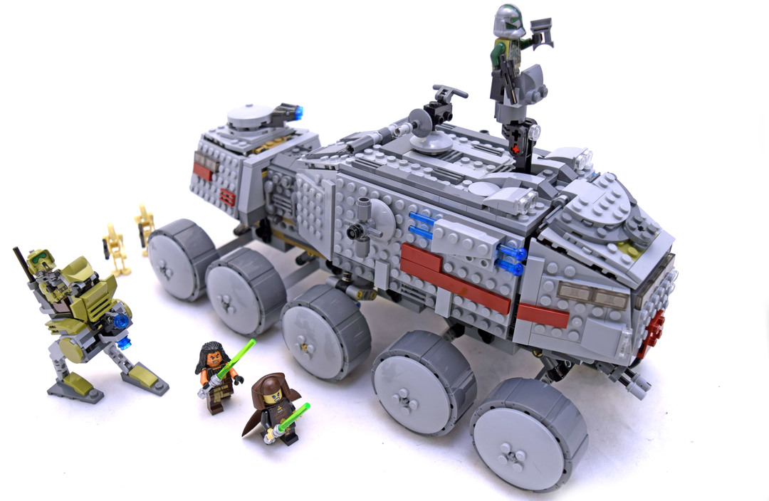 Clone Turbo Tank Lego Set 75151 1 Building Sets Star Wars