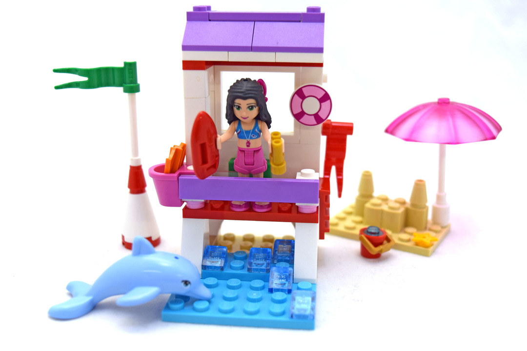 Emma's Lifeguard Post - LEGO set #41028-1
