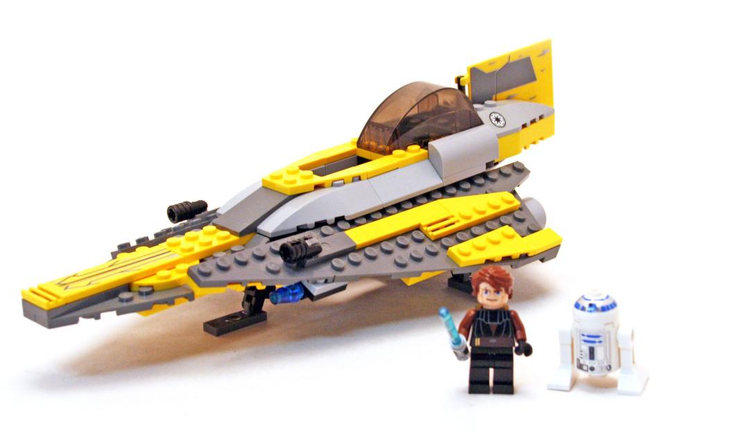 Anakin 39 s jedi starfighter lego set 7669 1 building - Lego star wars vaisseau anakin ...