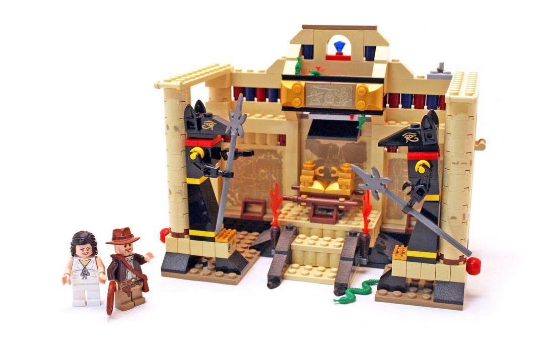 Lost Tomb - LEGO set #7621-1 - 1