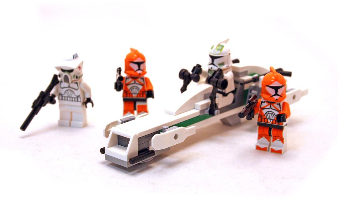 Clone Trooper Battle Pack Lego Set 7913 1 Building Sets Star