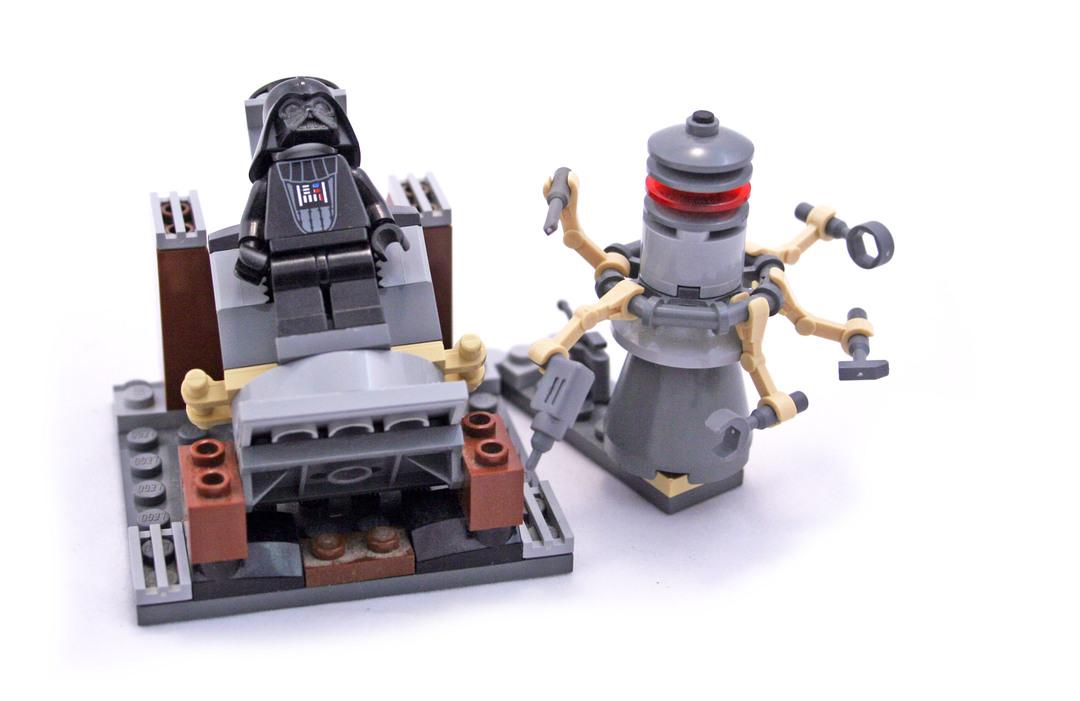 Darth Vader Transformation Lego Set 7251 1 Building Sets Star