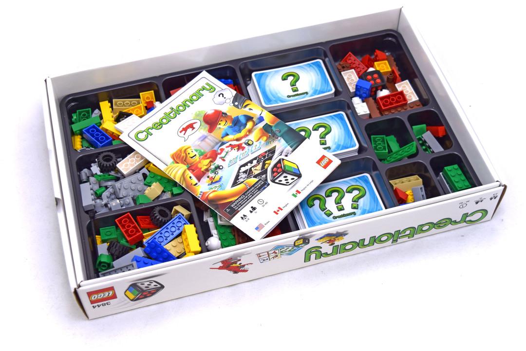 Creationary Lego Set 3844 1 Games