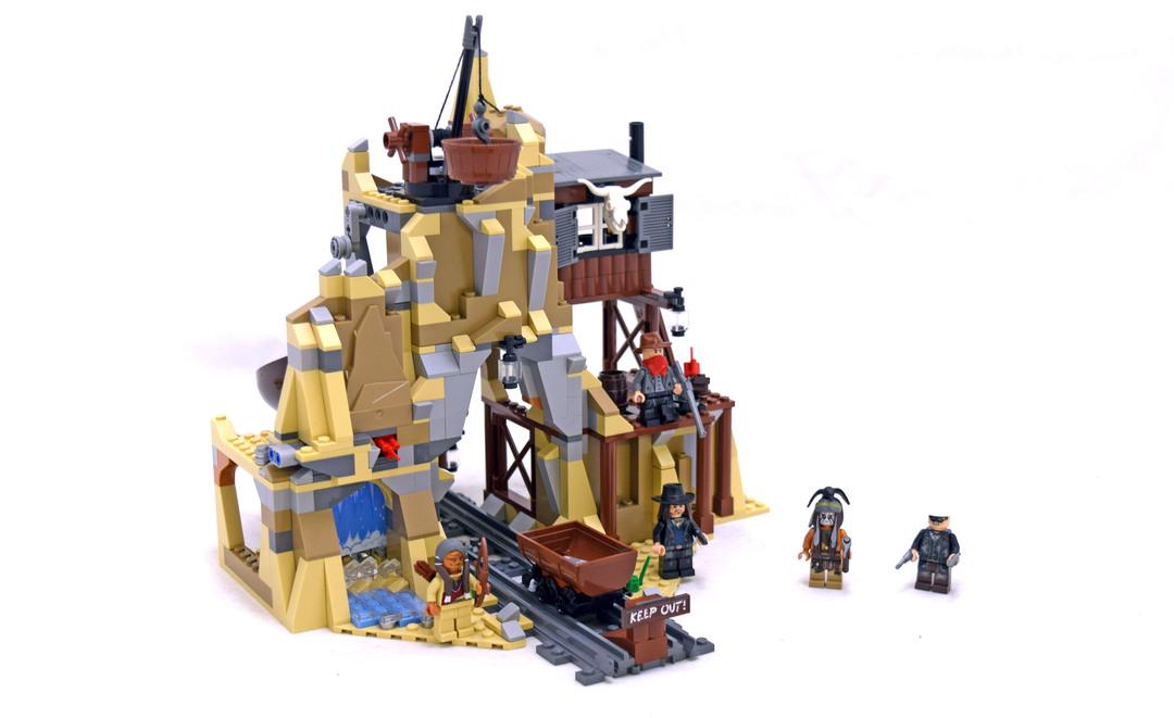 Silver Mine Shootout - LEGO set #79110-1 (Building Sets > The Lone ...
