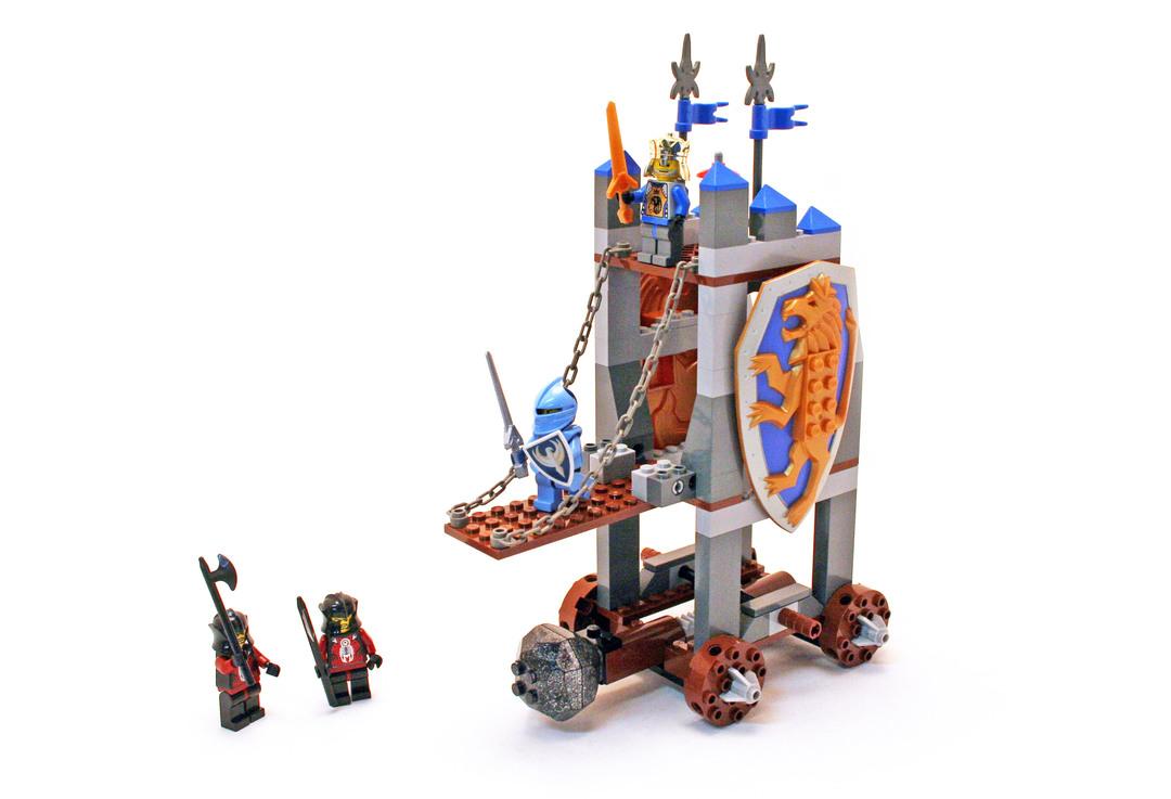 Kings Siege Tower Lego Set 8875 1 Building Sets Castle