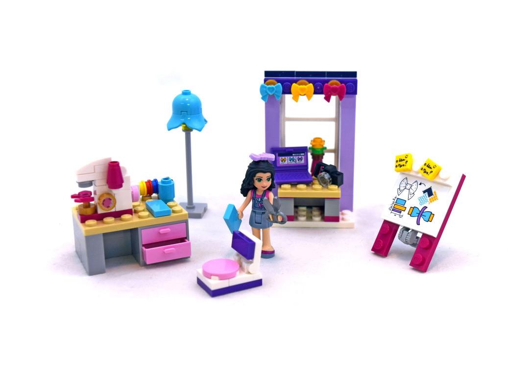 Emma's Creative Workshop - LEGO set #41115-1 - 1