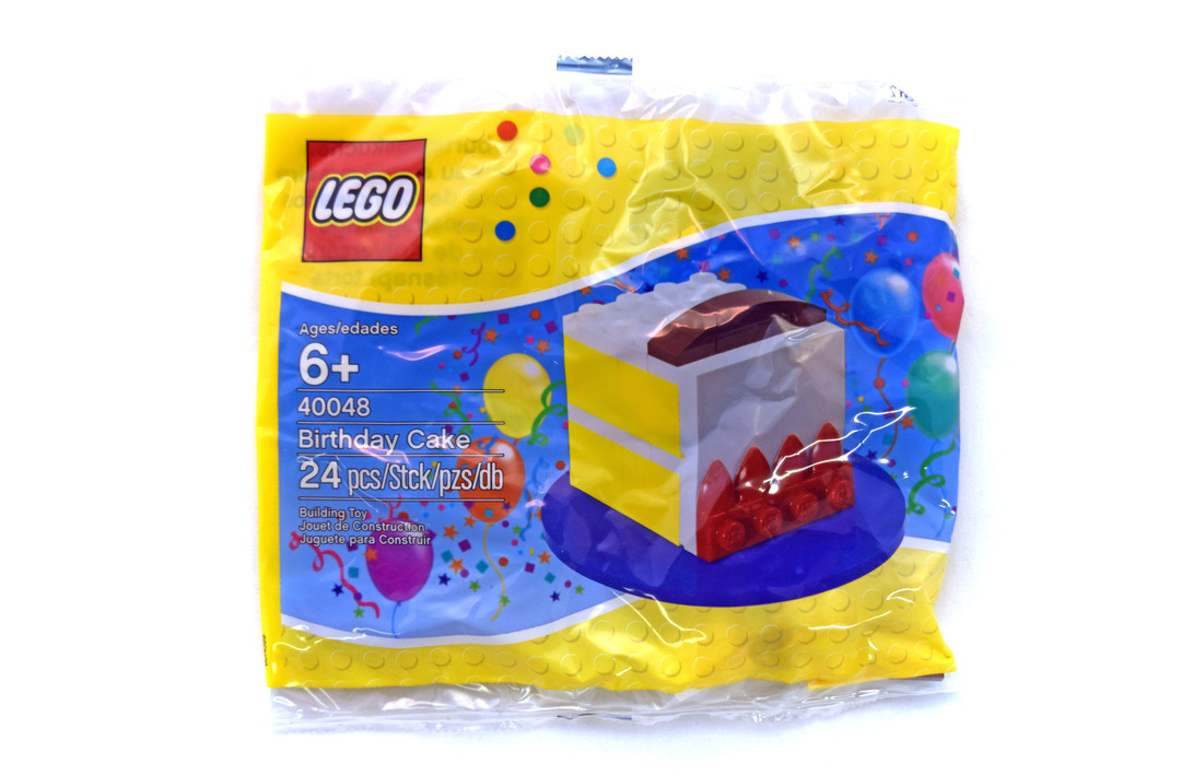 Birthday Cake Lego Set 40048 1 Nisb Building Sets