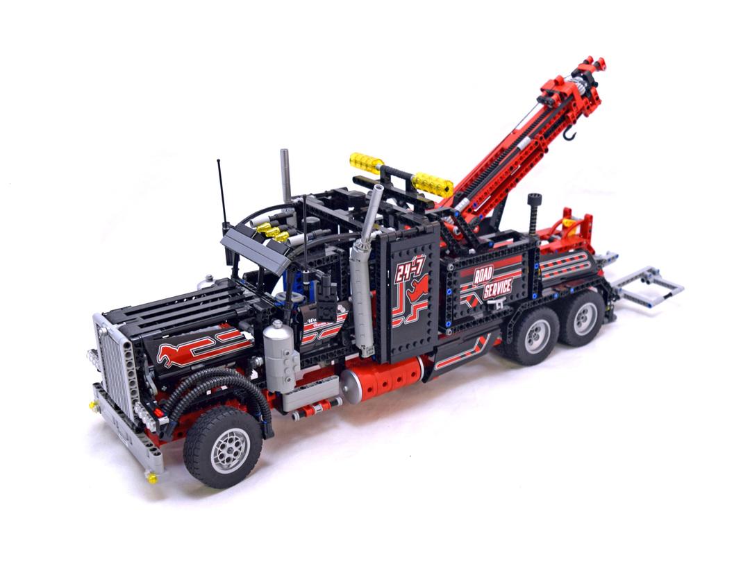 tow truck lego set 8285 1 building sets technic. Black Bedroom Furniture Sets. Home Design Ideas