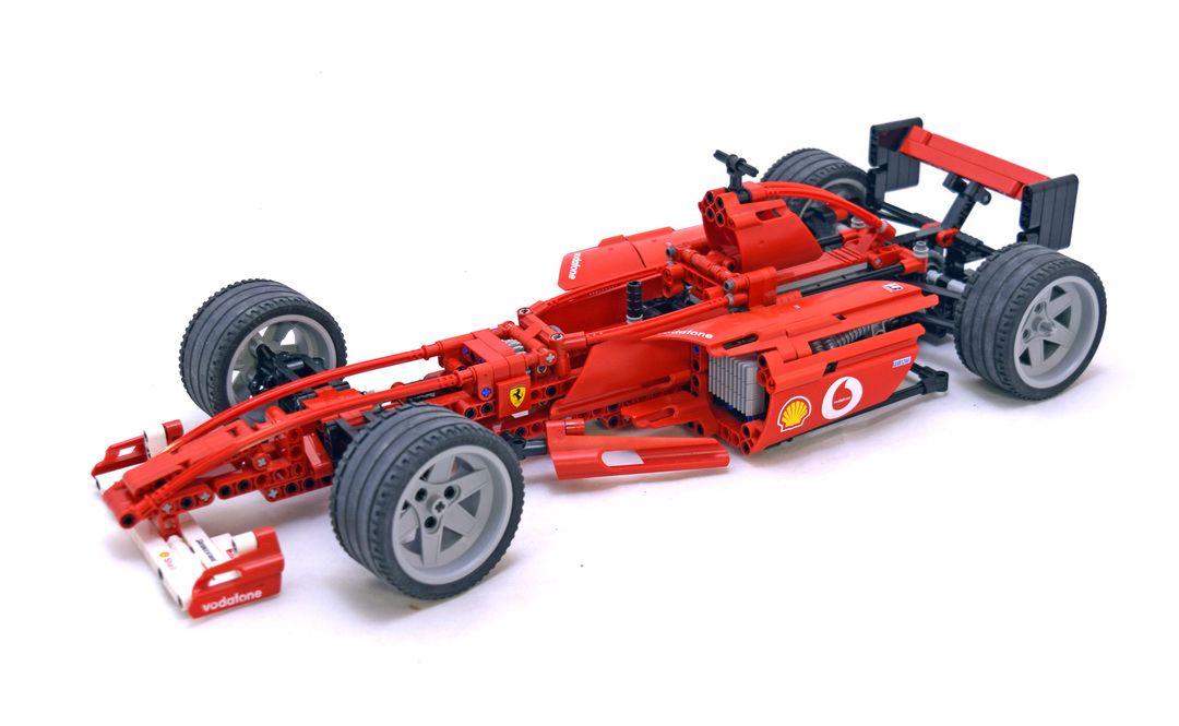 Ferrari F1 Racer 1 10 Lego Set 8386 1 Building Sets Technic