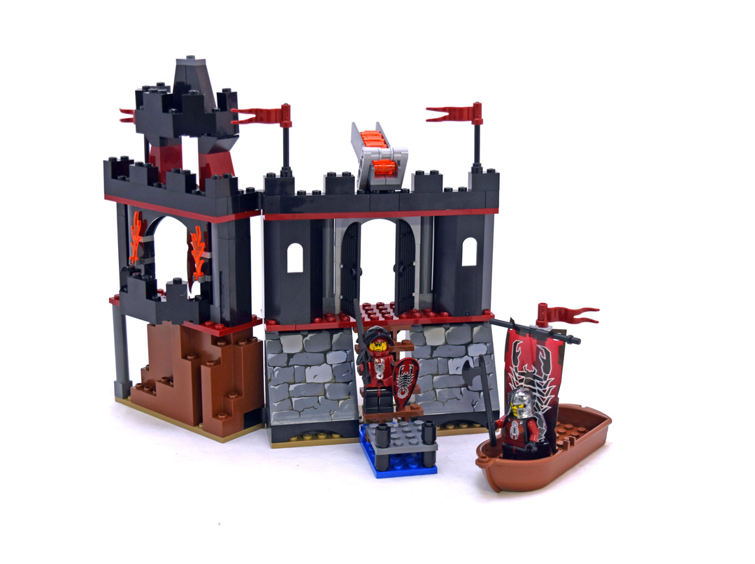 Dark Fortress Landing - LEGO set #8802-1