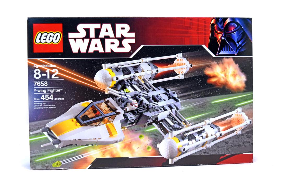 Y Wing Fighter Lego Set 7658 1 Nisb Building Sets Star Wars
