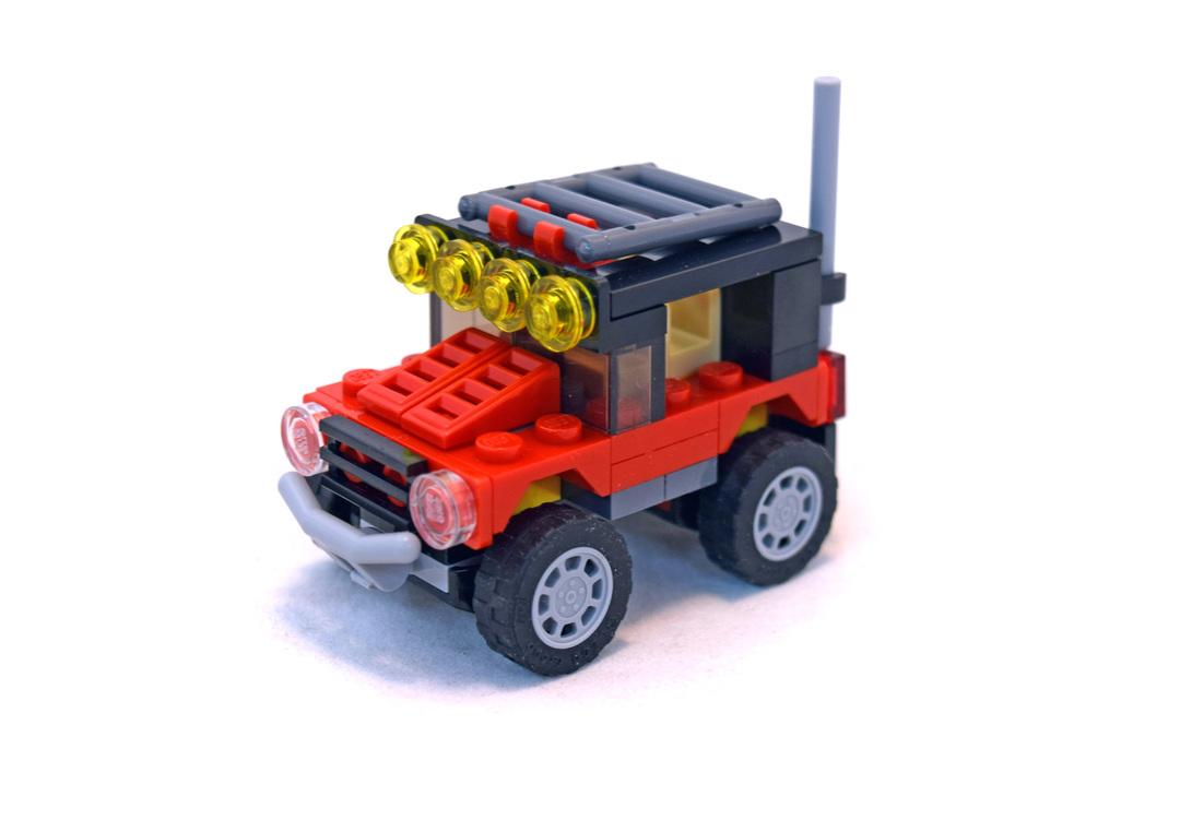 Desert Racers - LEGO set #31040-1