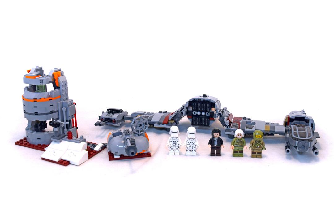 Defense of Crait - LEGO set #75202-1