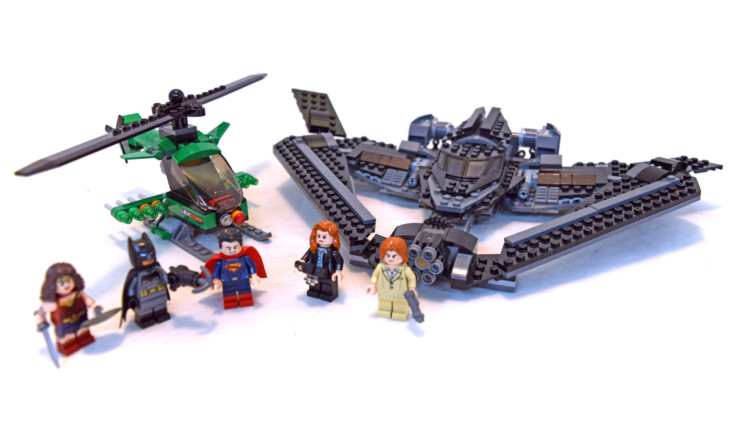 Heroes of Justice: Sky High Battle - LEGO set #76046-1