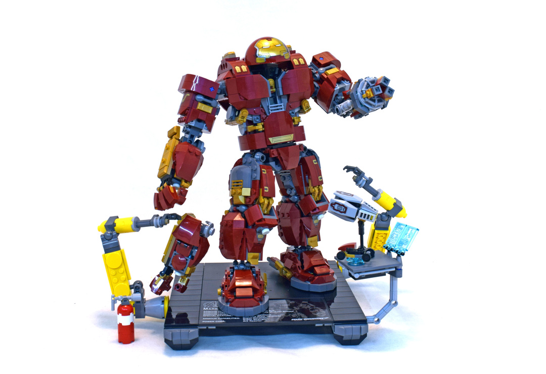 The Hulkbuster Ultron Edition Lego Set 76105 1 Building Sets
