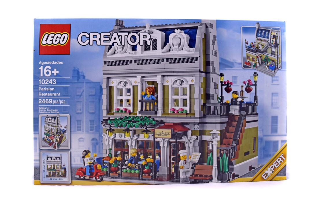 Parisian Restaurant Lego Set 10243 1 Nisb Building Sets City