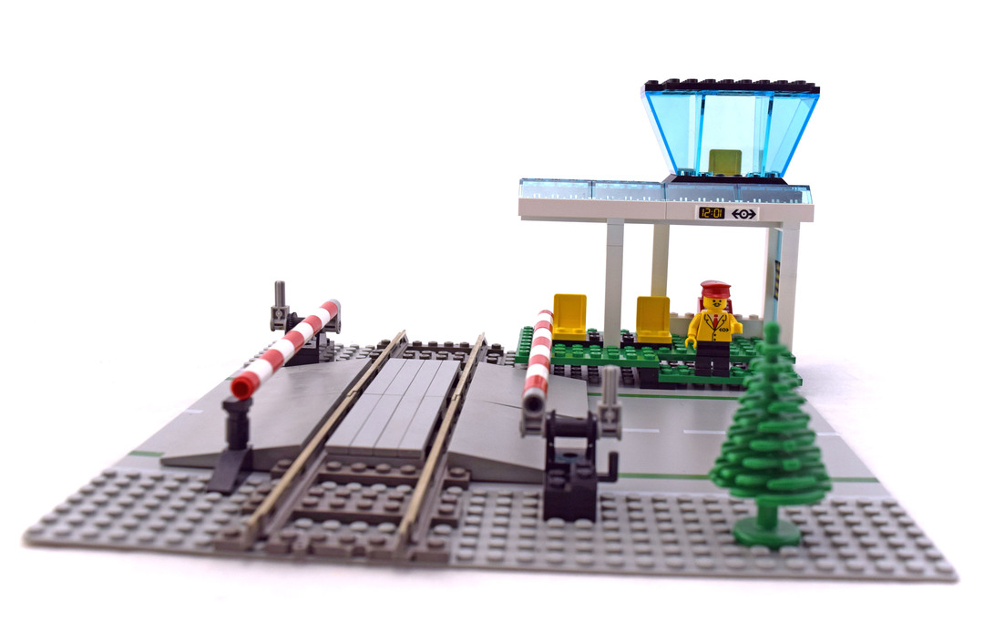 Manual Level Crossing Lego Set 4532 1 Building Sets Town Train