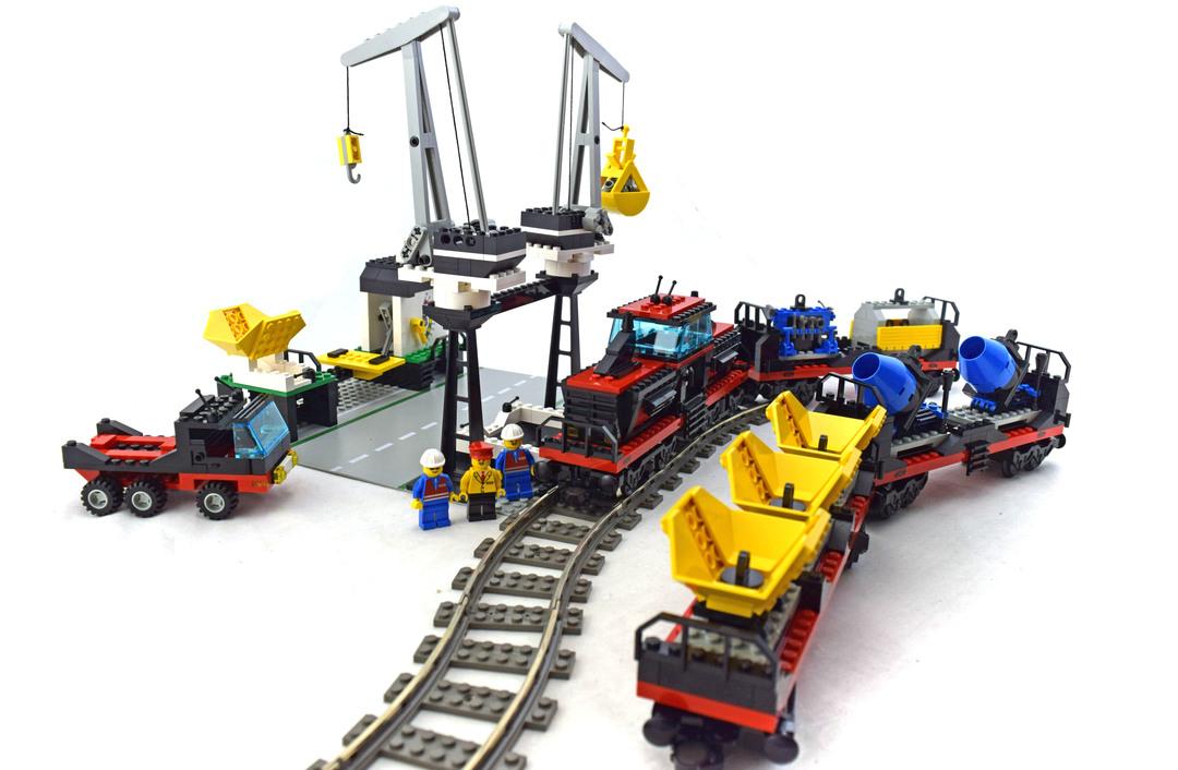 Freight and Crane Railway - LEGO #4565