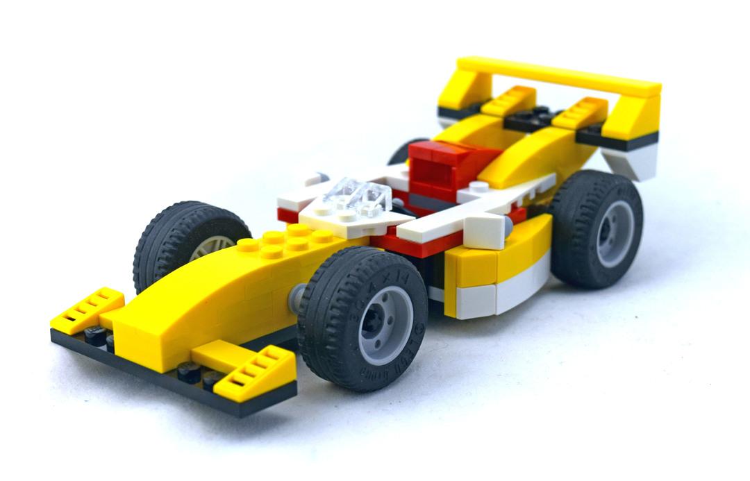 Super Racer - LEGO set #31002-1
