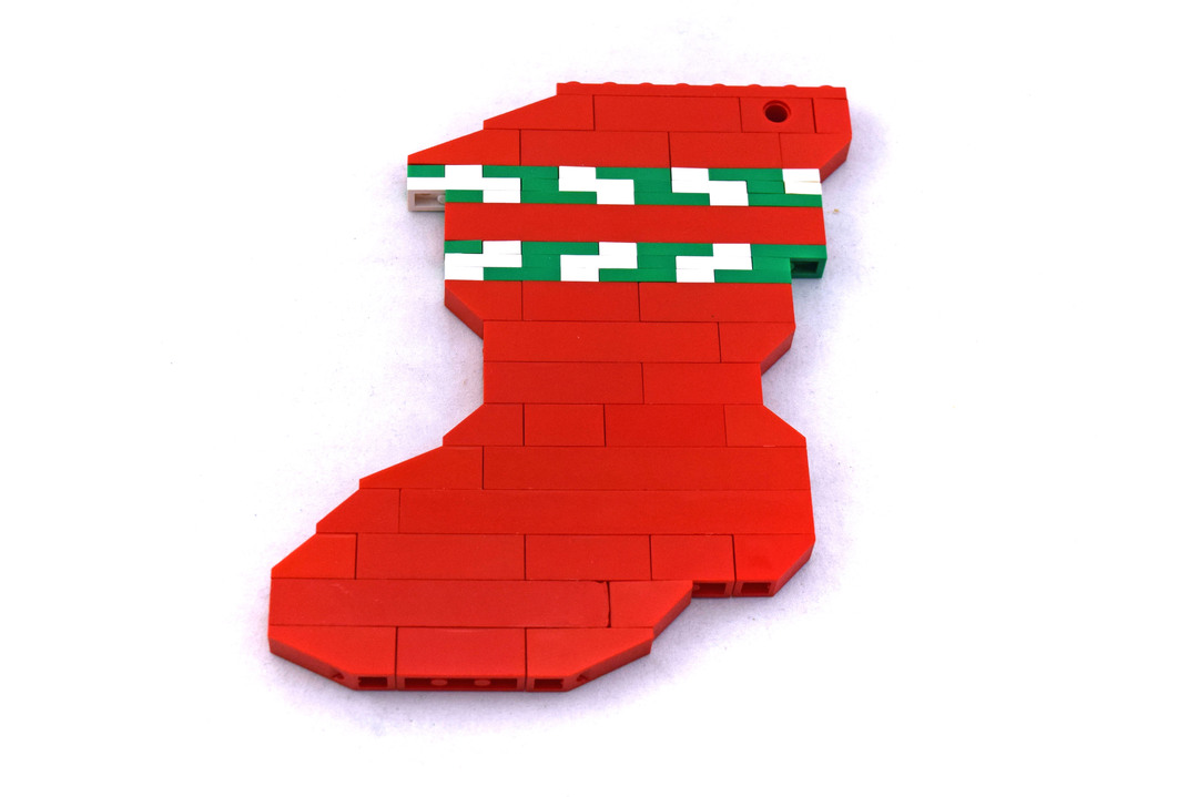 Holiday Stocking - LEGO set #40023-1 - 1