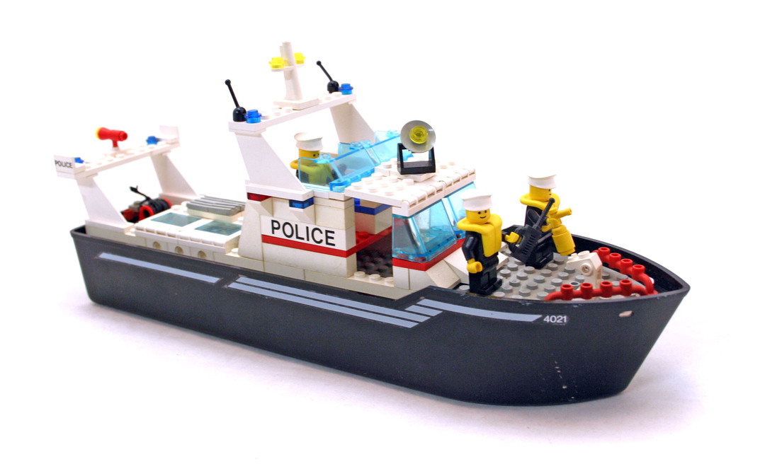 Police Patrol - LEGO set #4021-1
