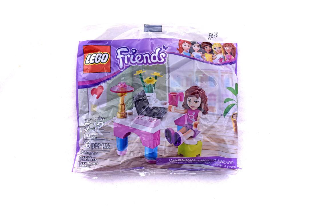 Olivia's Desk polybag - LEGO set #30102-1 (NISB)