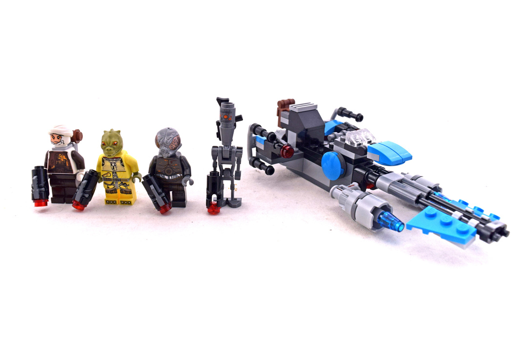 Bounty Hunter Speeder Bike Battle Pack - LEGO set #75167-1