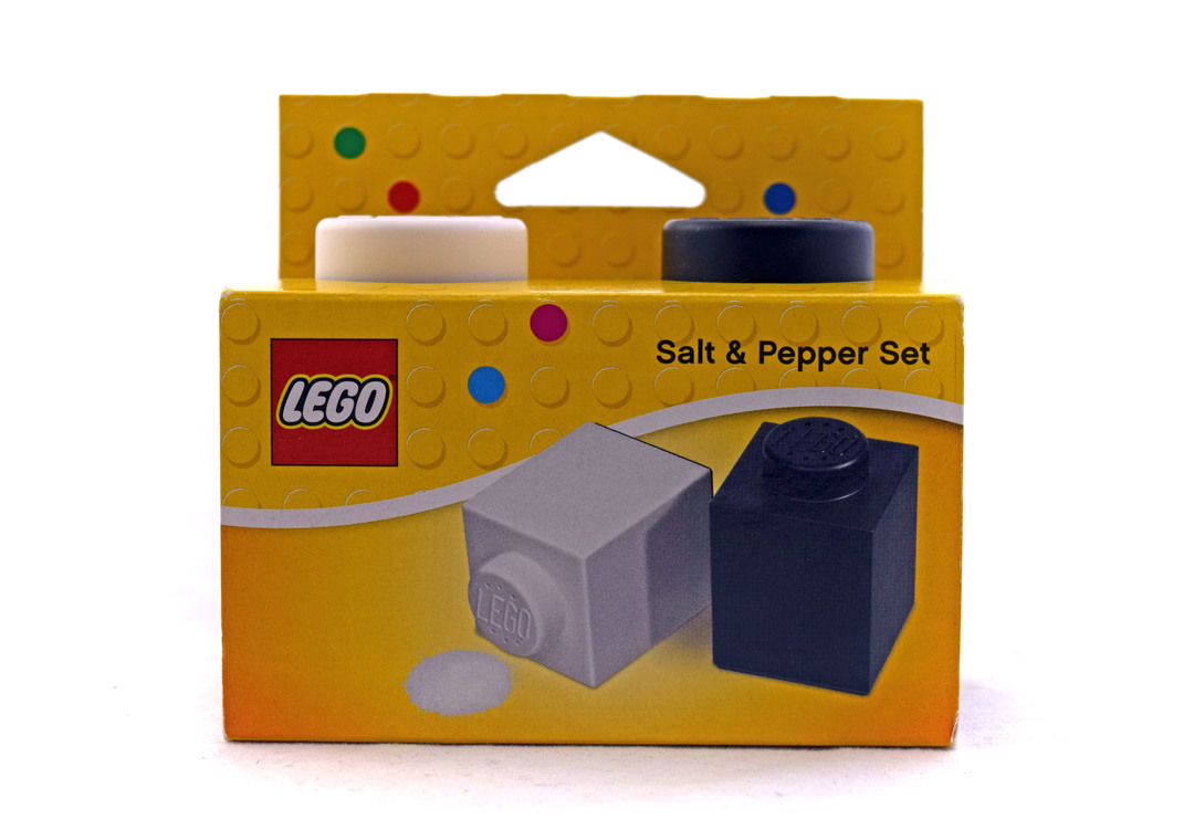LEGO Brick Salt & Pepper Shakers