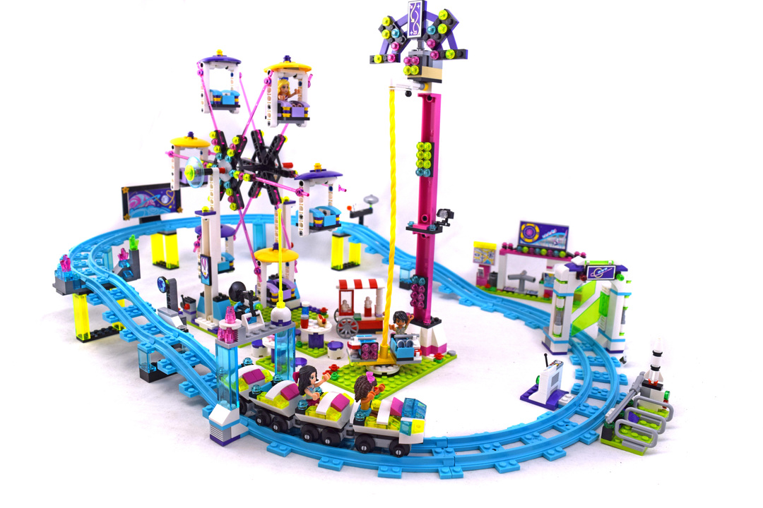 Amusement Park Roller Coaster - LEGO set #41130-1 - 1