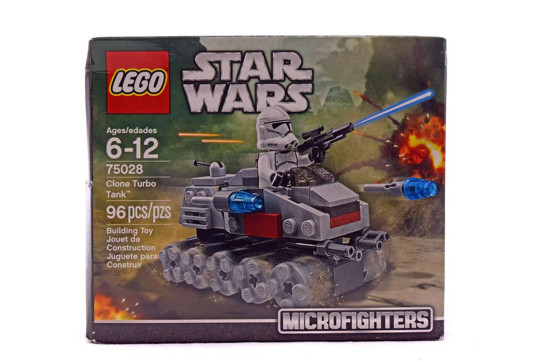 Clone Turbo Tank - LEGO set #75028-1 (NISB)