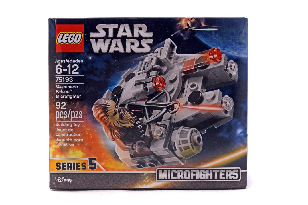 Millennium Falcon Microfighter - LEGO set #75193-1 (NISB)
