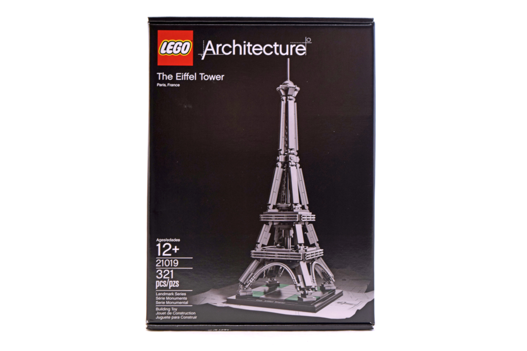 The Eiffel Tower - LEGO set #21019-1 (NISB)