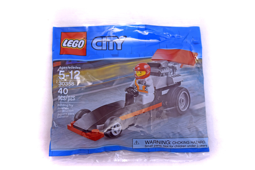 Dragster polybag - LEGO set #30358-1 (NISB) - 1