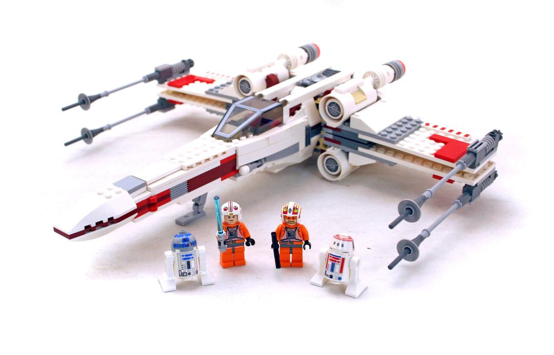X-wing Starfighter - LEGO set #9493-1