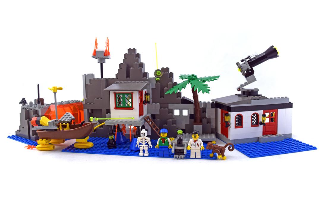 Mystic Mountain Time Lab - LEGO set #6494-1 - 1
