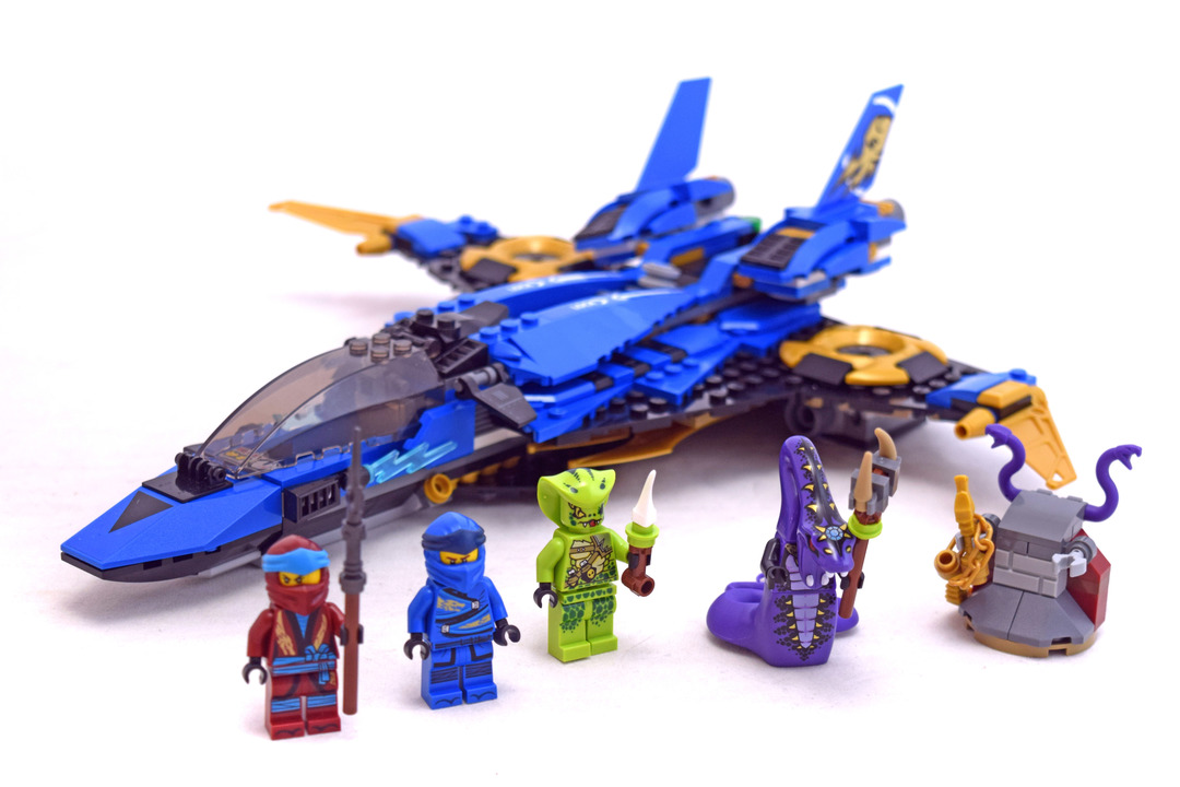 Jay's Storm Fighter - LEGO set #70668-1 - 1