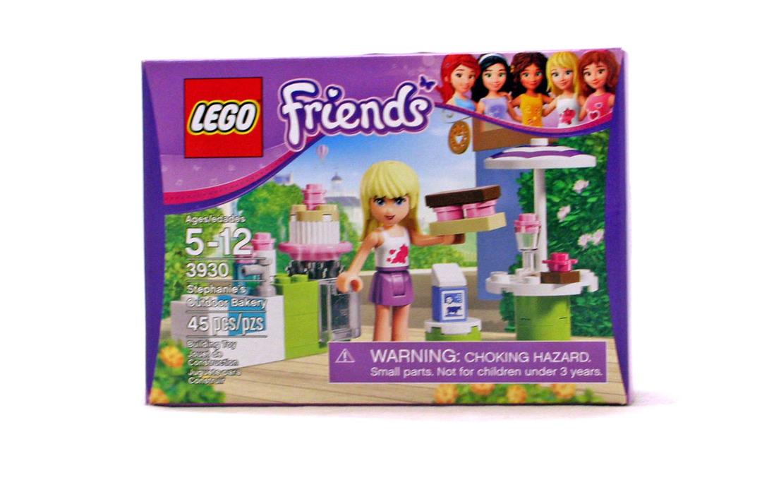 Stephanie's Outdoor Bakery - LEGO set #3930-1 (NISB) - 1