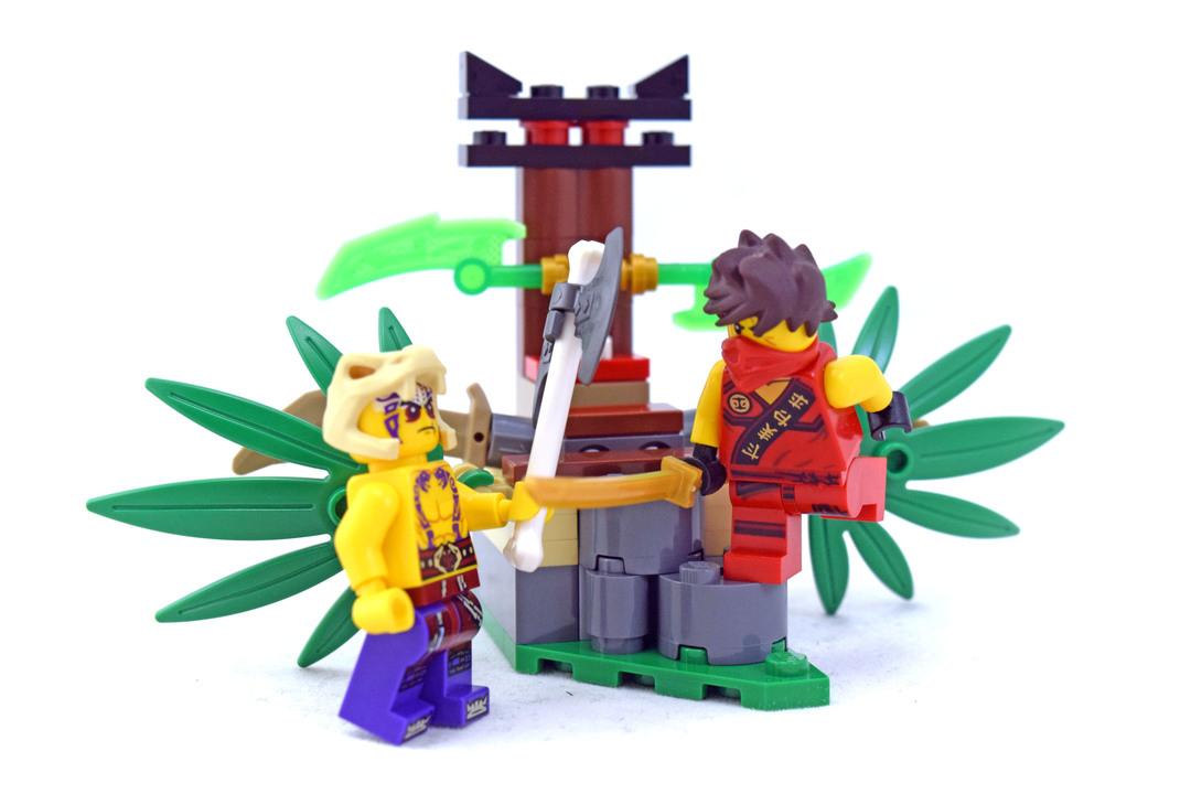 Jungle Trap - LEGO set #70752-1 - 1