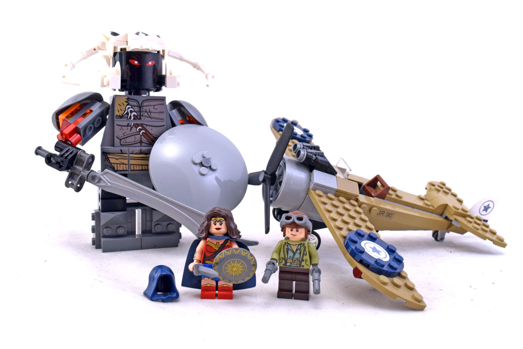 Wonder Woman Warrior Battle - LEGO set #76075-1 - 1