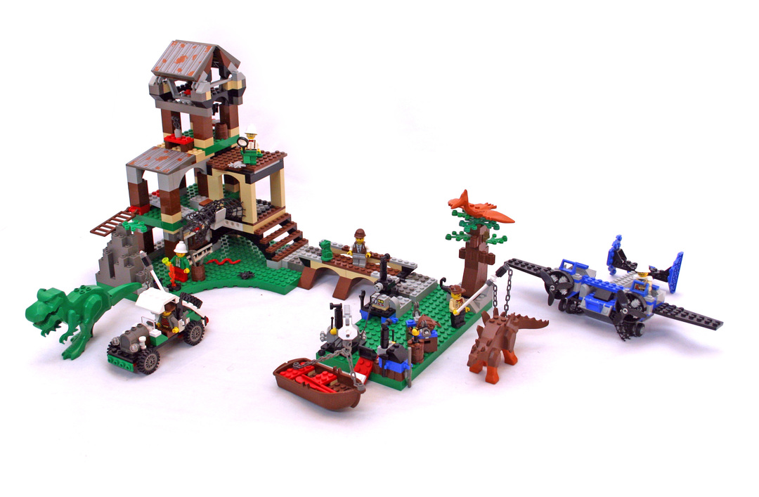Dino research compound lego set 5987 1 building sets adventurers - Dinosaure lego ...
