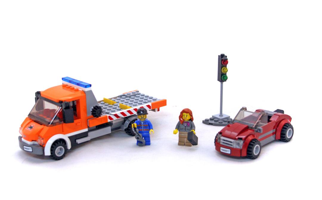 Flatbed Truck Lego Set 60017 1 Building Sets City