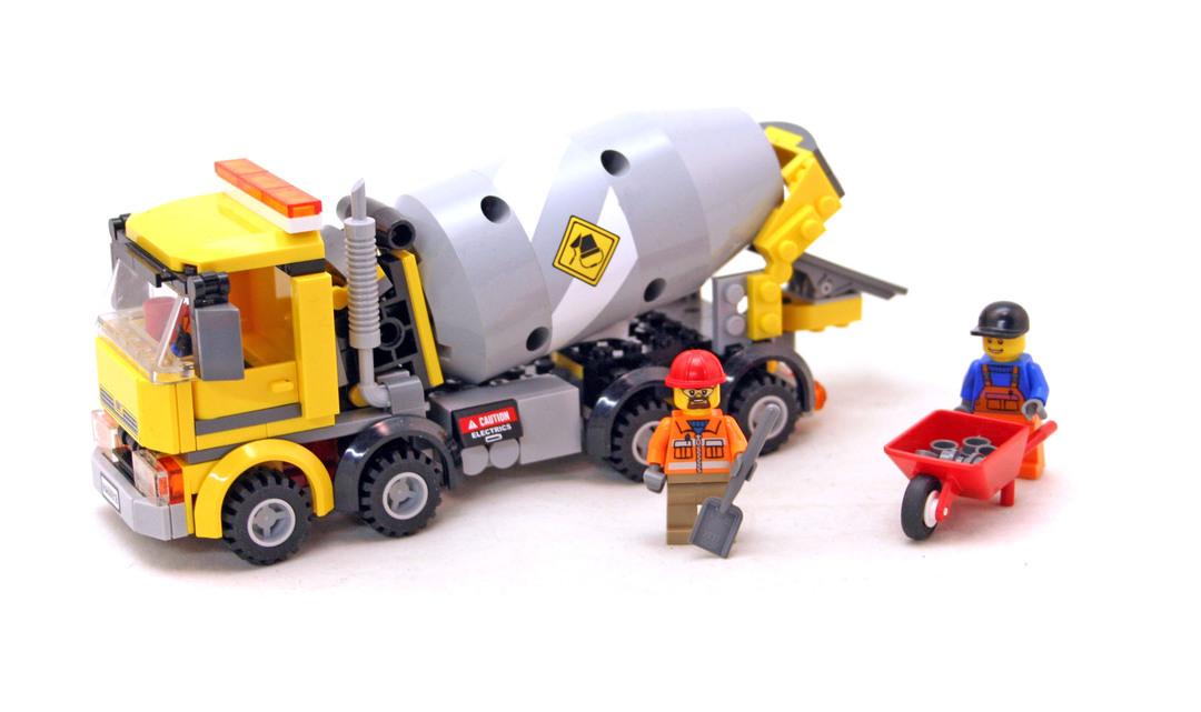Cement Mixer Lego Set 60018 1 Building Sets City