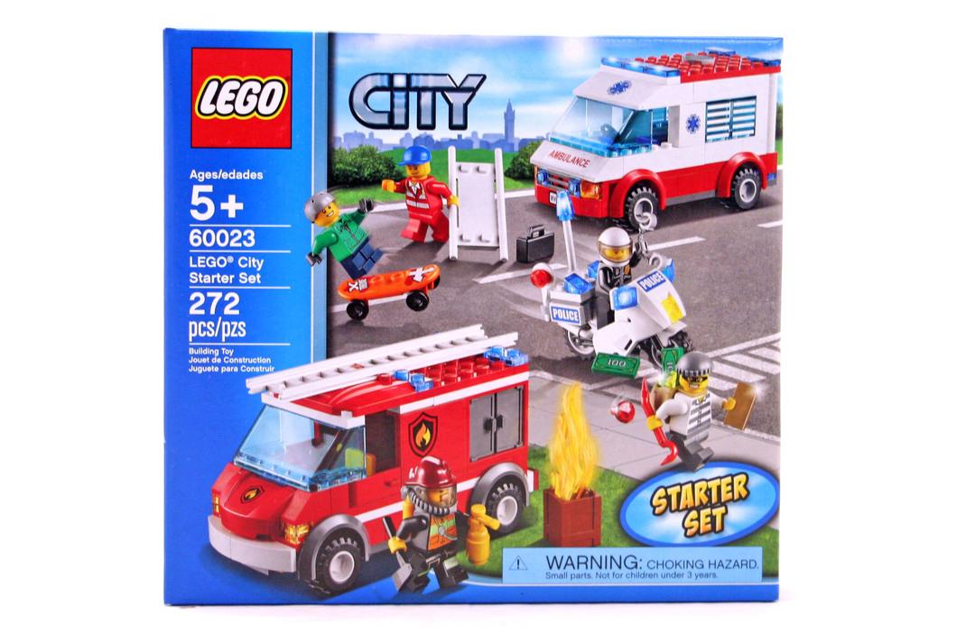 Lego City Starter Set Lego Set 60023 1 Nisb Building Sets City
