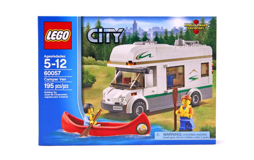 Camper Van Lego Set 60057 1 Nisb Building Sets City