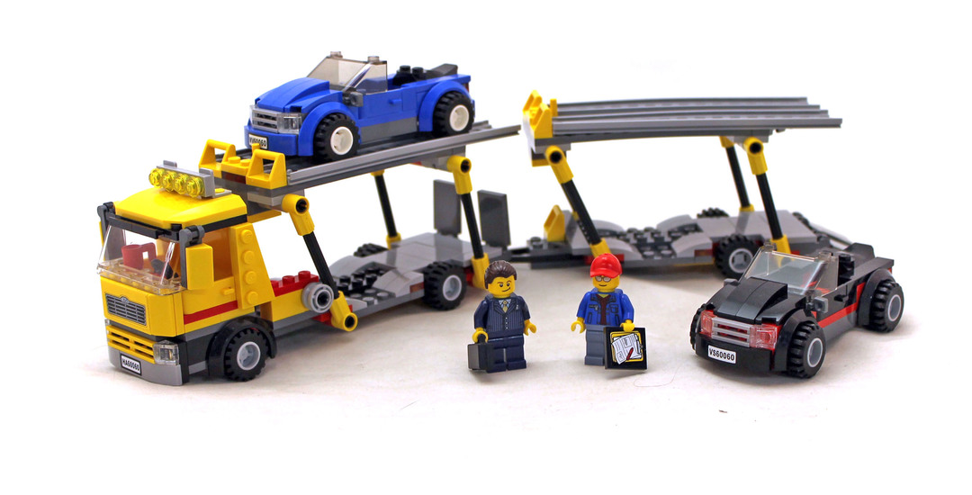 lego auto transporter instructions