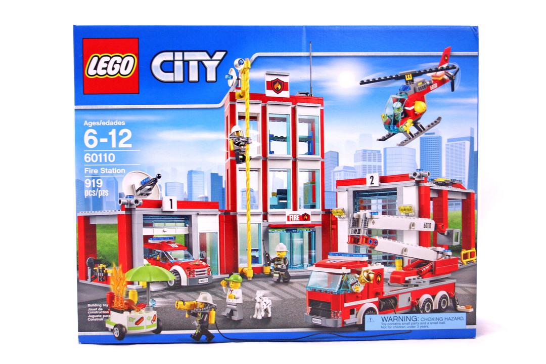 Fire Station Lego Set 60110 1 Nisb Building Sets