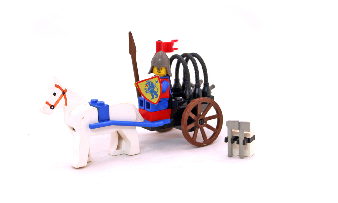 Knights' Arsenal - LEGO set #6016-1 - 1