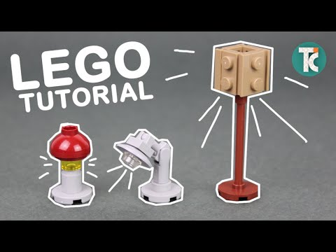 LEGO Lamps (How to build)
