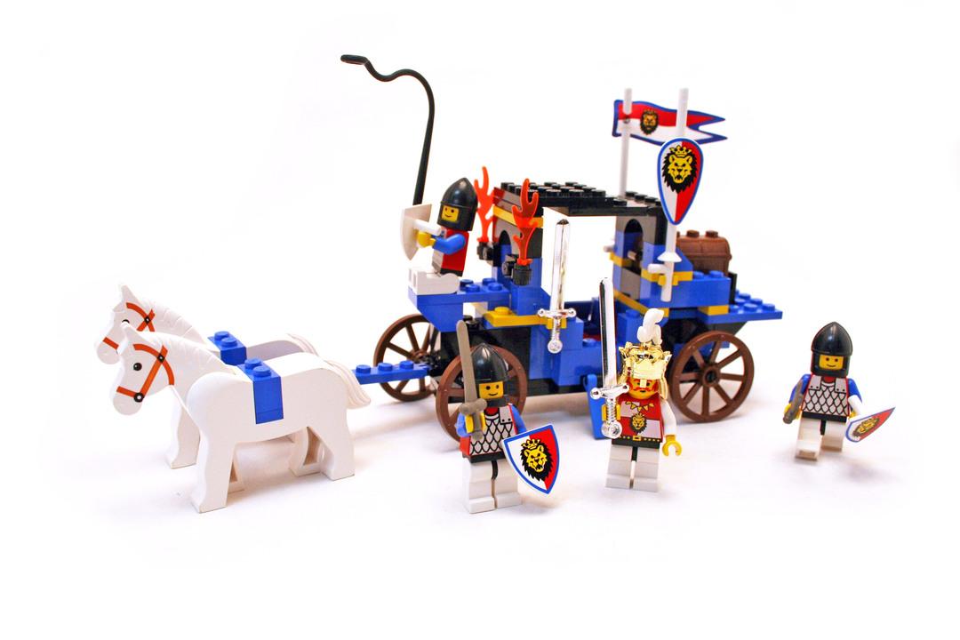 King's Carriage - LEGO set #6044-1